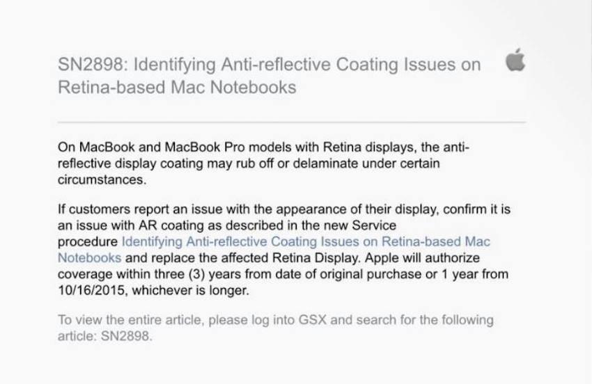 Apple tarafından yayınlanan bildiri