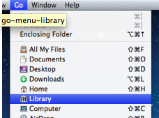 "Mac OS X Lion ""Library"" Nerede ?"