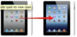 iPad'inizden Yeni iPad'inize Taşının…