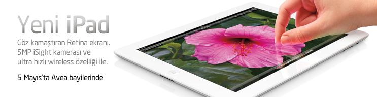 The New iPad , 5 Mayıs'ta ülkemizde