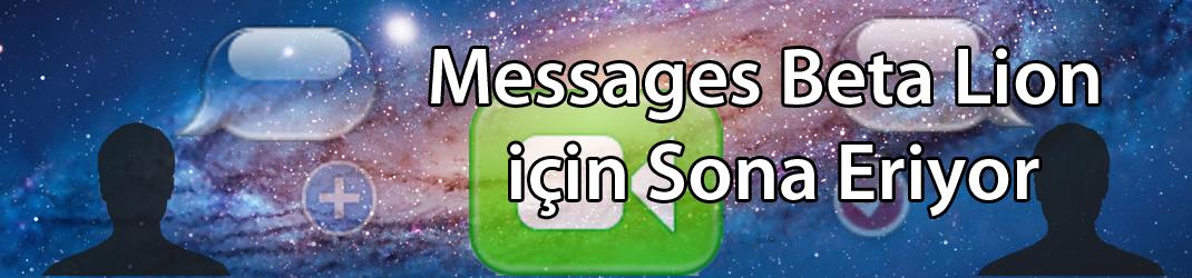 Messages Beta Sürümü 14 Aralık'ta Bitiyor