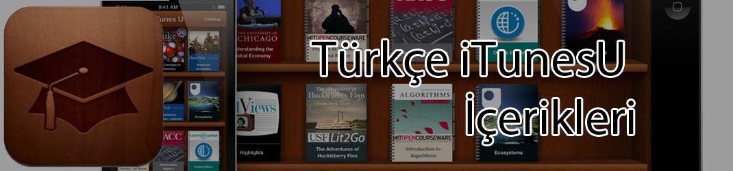 Türkçe iTunesU İçerikleri