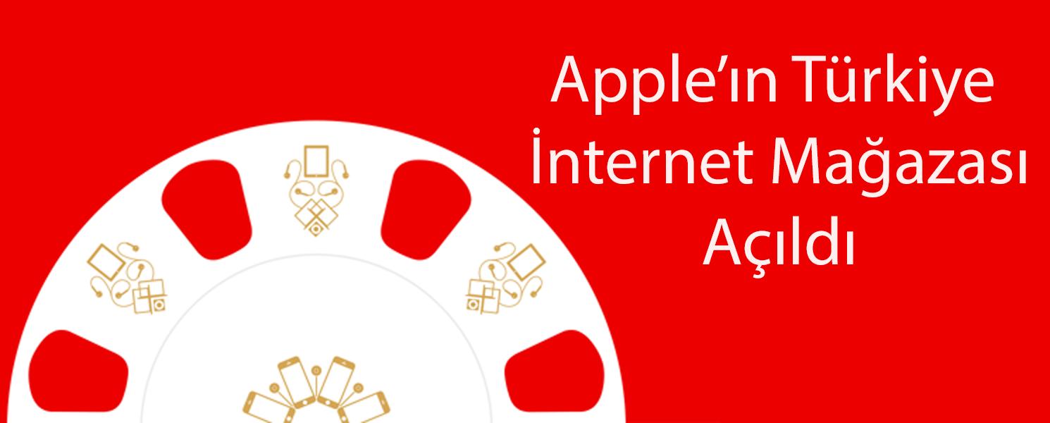 Apple'ın İnternet Mağazası Açıldı